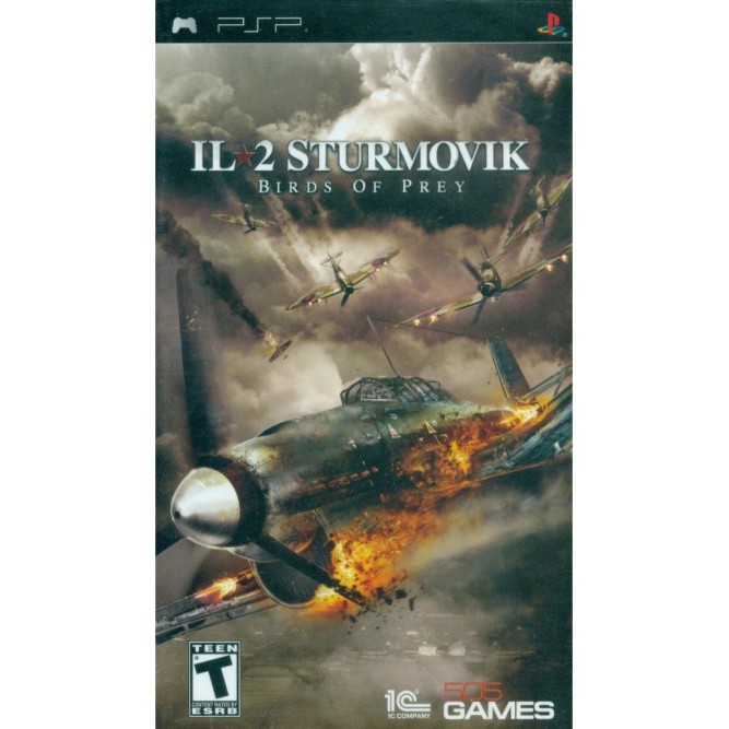 Игра IL-2 Sturmovik. Birds of Prey (PSP) (rus)