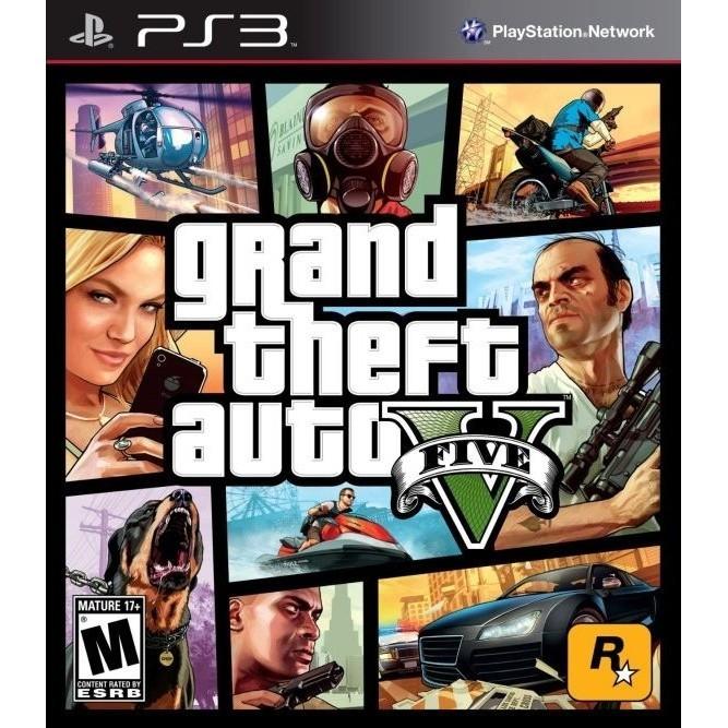 Игра GTA V (Grand Theft Auto 5) (PS3) б/у