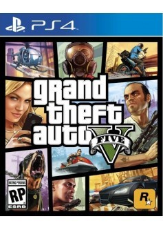 GTA V (Grand Theft Auto 5) (PS4)
