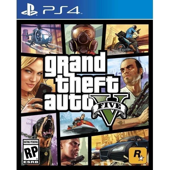 GTA V (Grand Theft Auto 5) (PS4)