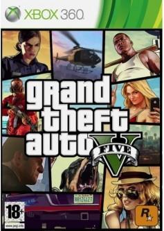 GTA V (Grand Theft Auto 5) (Xbox 360)