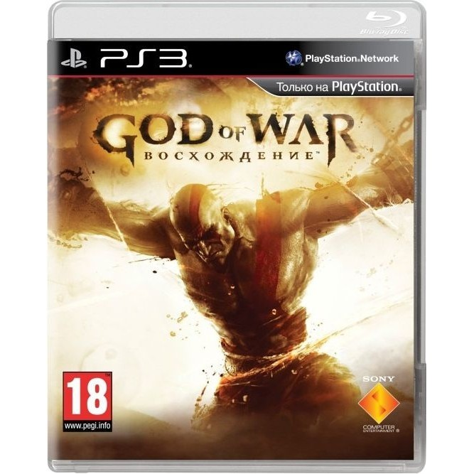 God of War восхождение (PS3) б/у