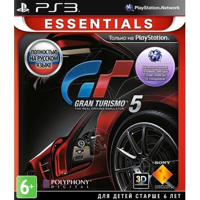 Игра Gran Turismo 5 (PS3) б/у