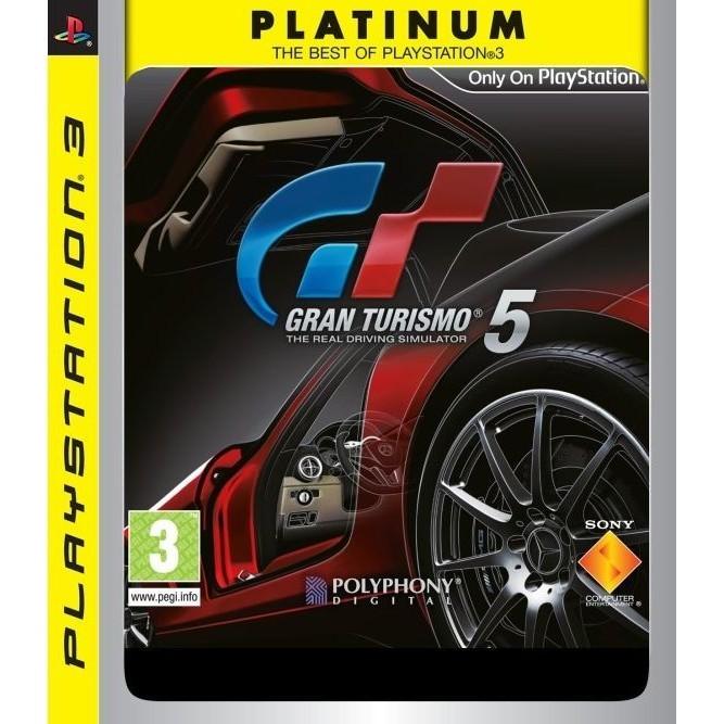 Gran turismo 5 platinum rus (PS3) б/у