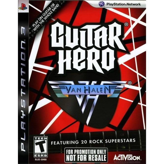 Guitar Hero Van Halen (PS3) б/у