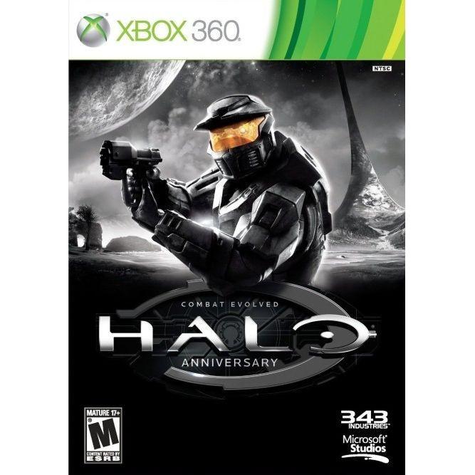 Halo combat evolved anniversary (Xbox 360) б/у
