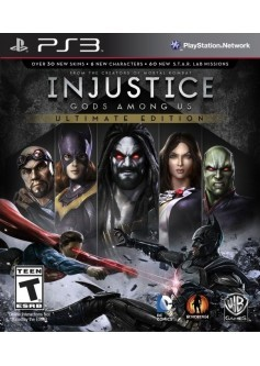 Injustice ultimate edition (PS3) б/у