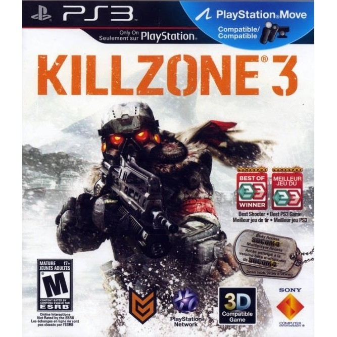 Игра Killzone 3 (PS3) б/у