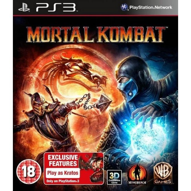 Игра Mortal Kombat (PS3) б/у