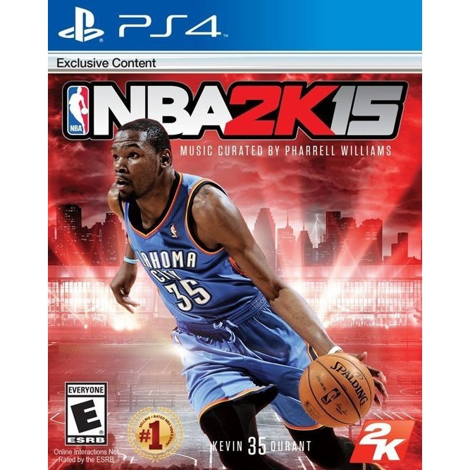 Игра NBA 2K15 (PS4) б/у