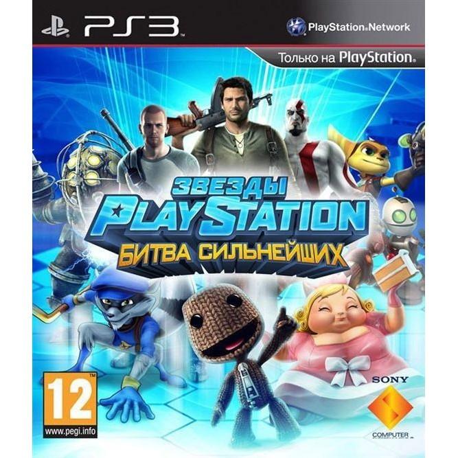 Игра Звезды PlayStation: Битва сильнейших (PS3) б/у