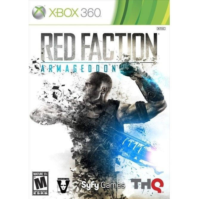 Игра Red Faction: Armageddon (Xbox 360) б/у