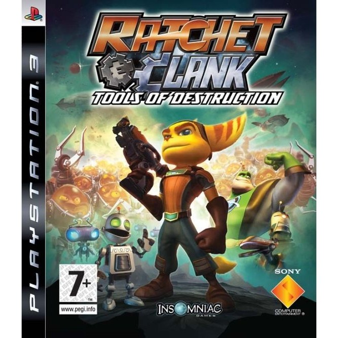 Игра Ratchet and Clank: Tools of Destruction (Essentials) (PS3)