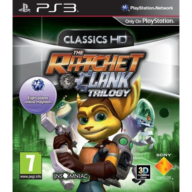 Ratchet  and  Clank: Trilogy (PS3)