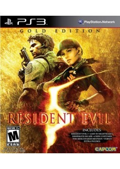 Residen evil 5 gold edition (PS3) б/у