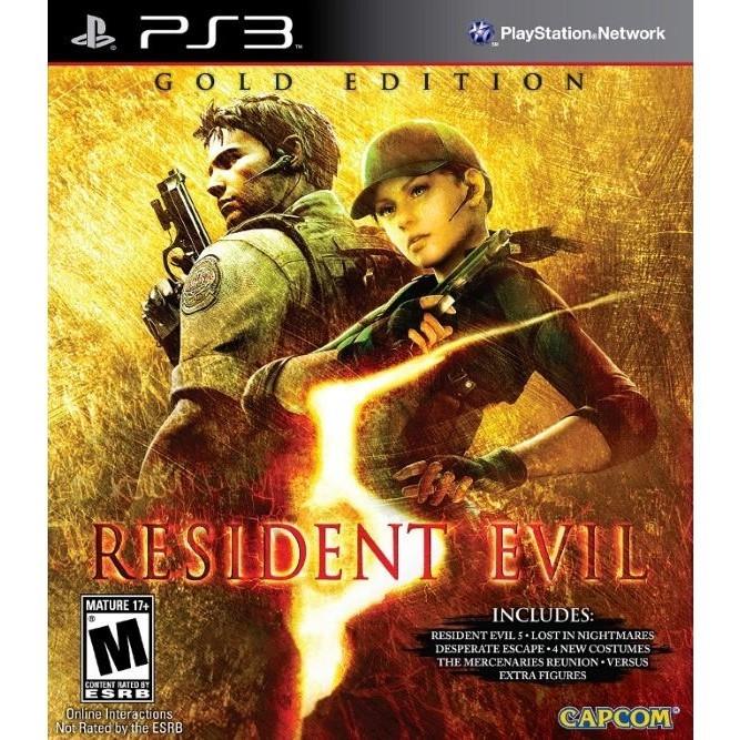 Игра Resident Evil 5. Gold Edition (PS3) б/у