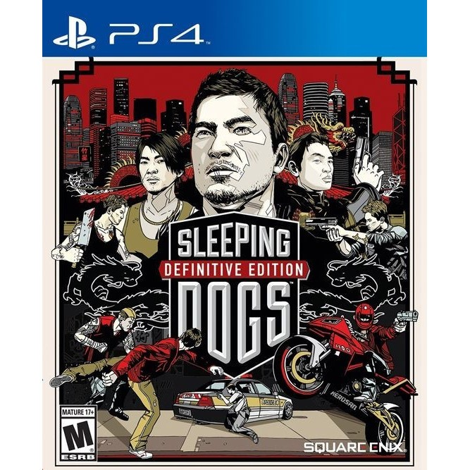 sleeping dogs Defenetive edition (PS4) б/у