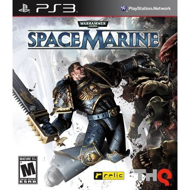 Игра Warhammer 40,000: Space Marine (PS3) б/у