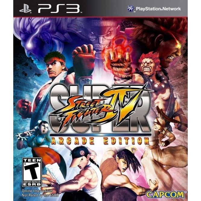 Super Street Fighter IV Arcade (PS3) б/у