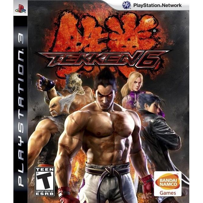 Tekken 6 (PS3) б/у