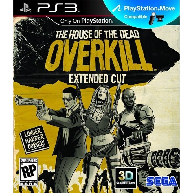 The house of dead overkill (PS3)
