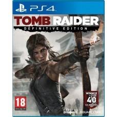 Tomb Raider definitive edition (PS4) б/у