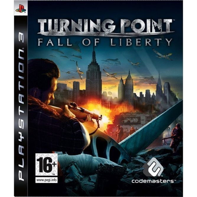 Игра Turning Point: Fall of Liberty (PS3) б/у