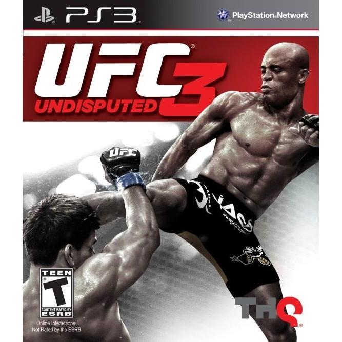 UFC undisputed 3 (PS3) б/у