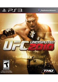 UFC undisputed 2010 (PS3) б/у