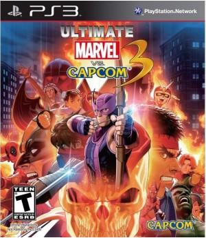 ultimate marvel vs capcom 3 (PS3) б/у
