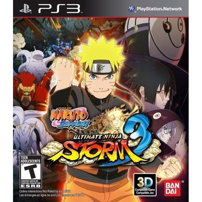 Naruto Ultimate ninja Storm 3 (PS3) б/у