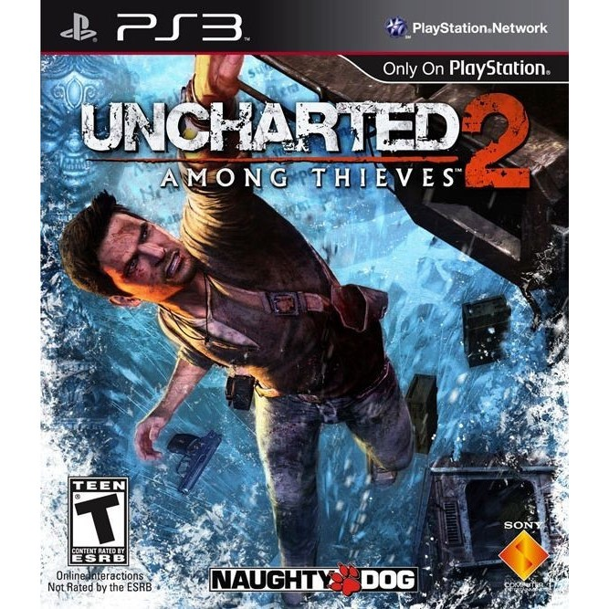 Uncharted 2 among thieves (PS3) б/у