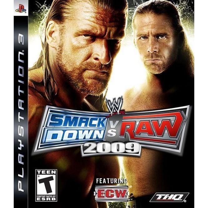 Smack down vs raw 2009 (PS3) б/у