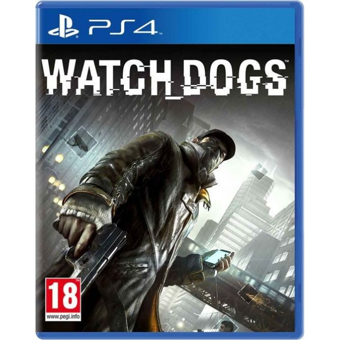 Watch dogs (PS4) б/у