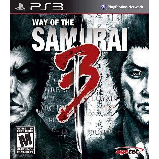 Way of the samurai 3 (PS3) б/у