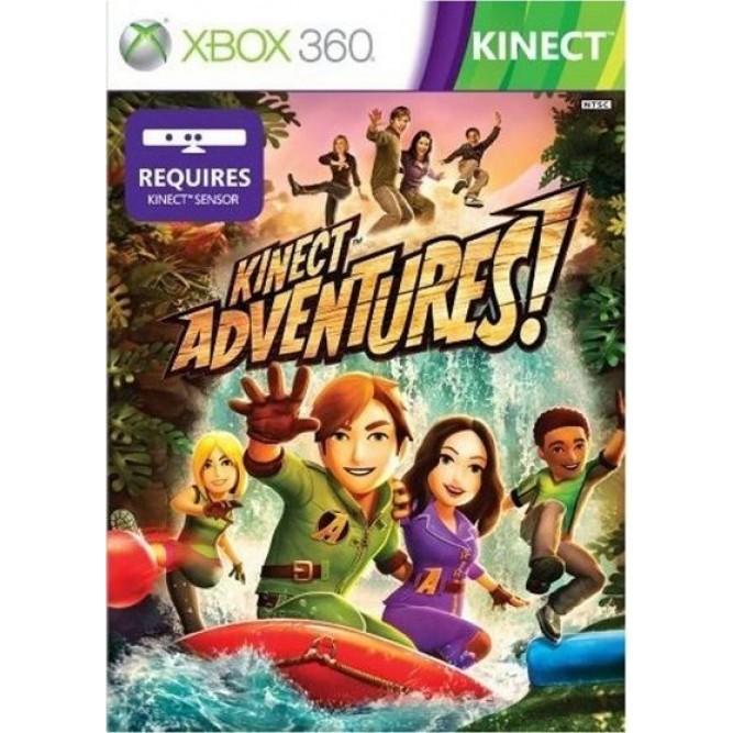 Игра Kinect Adventures! (Xbox 360) б/у