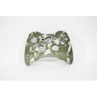 Корпус для геймпада Xbox 360 зелено-бежевый камуфляж