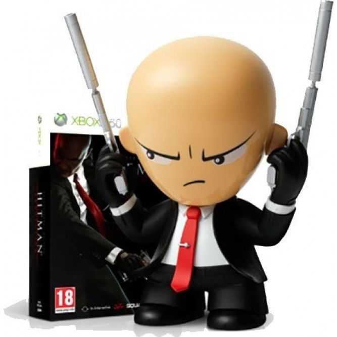 Hitman Absolution. Deluxe Professional Edition (с фигуркой) (Xbox 360)
