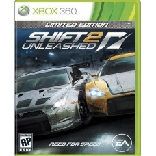 NFS SHIFT 2 Unleashed (Xbox 360) б/у