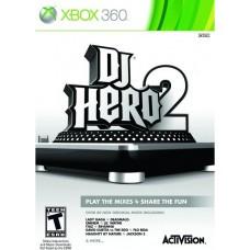 DJ HERO 2 (Xbox 360) б/у