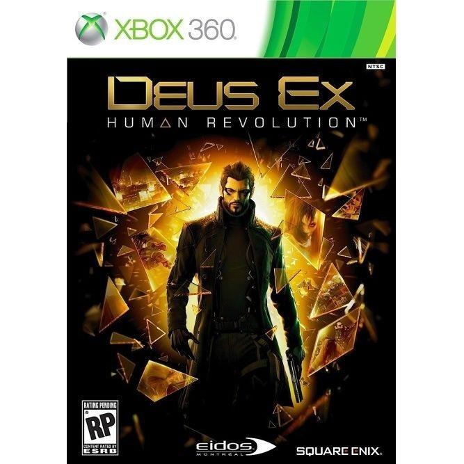 Игра Deus Ex: Human Revolution (Xbox 360) б/у