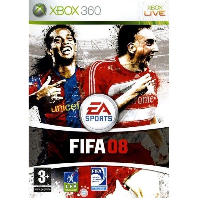 Игра FIFA 08 (Xbox 360) б/у
