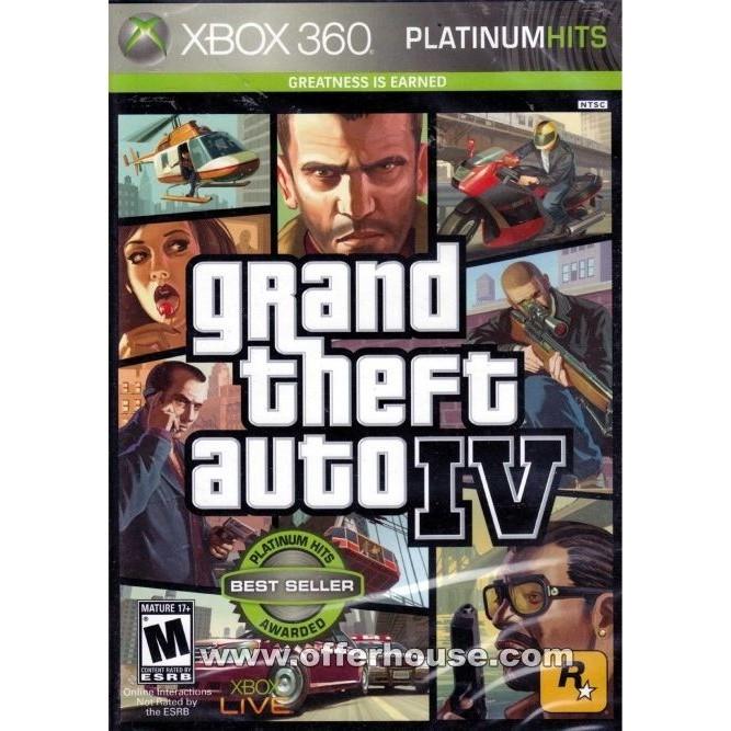 GTA IV (Grand Theft Auto 4) (Xbox 360) б/у