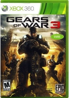 Gears of war 3 (Xbox 360) б/у