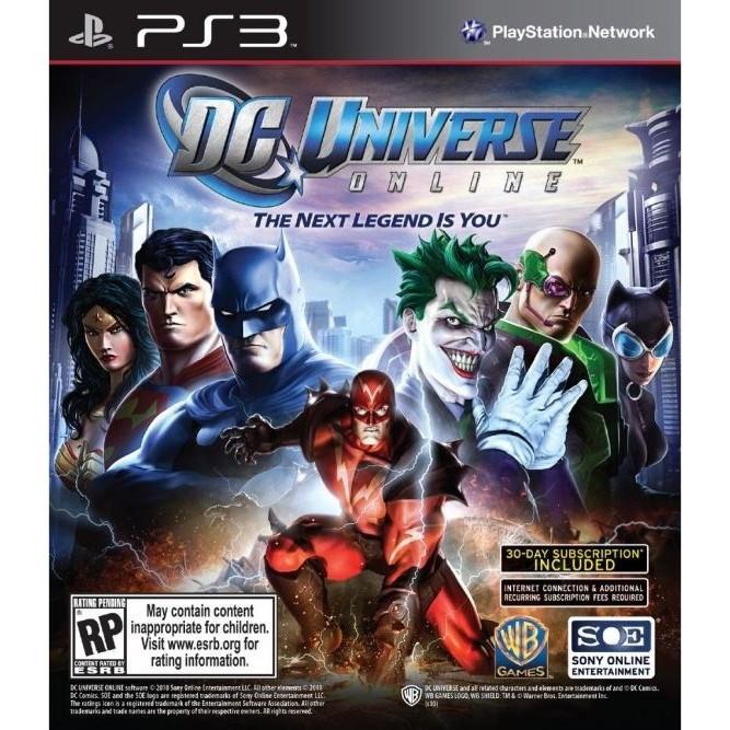 Mortal Kombat Vs. DC Universe (Essentials) (PS3) б/у