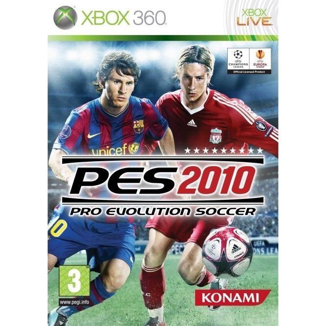 PES 2010 (Xbox 360) б/у