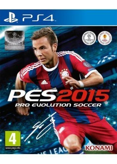 Pro evolution soccer 2015 ( PES 15) (PS4)