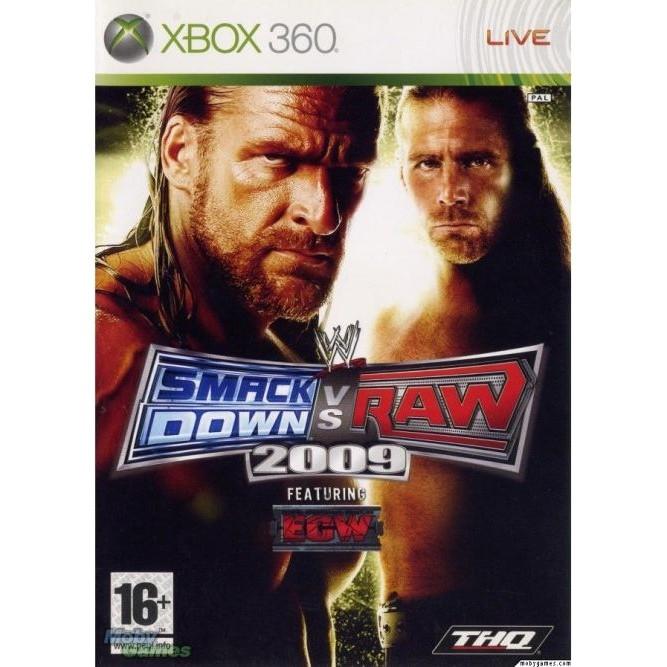 Smack down vs raw 2011 (Xbox 360) б/у