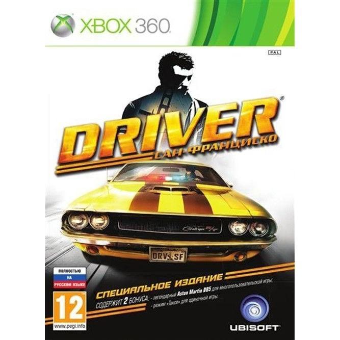 Driver Сан Франциско (Xbox 360) б/у