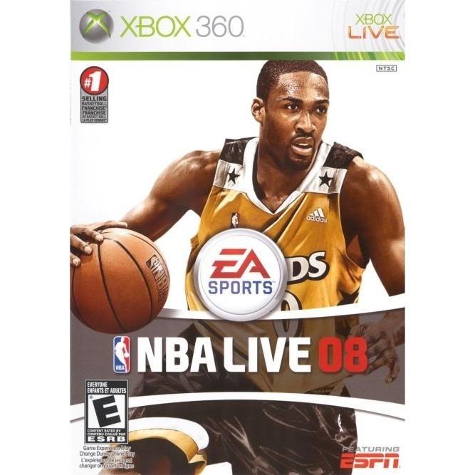 NBA live 08 (Xbox 360) б/у